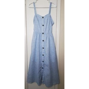 Sienna Sky Blue Long Dress